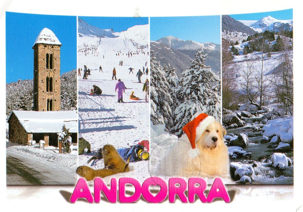 Postcard from Andorra