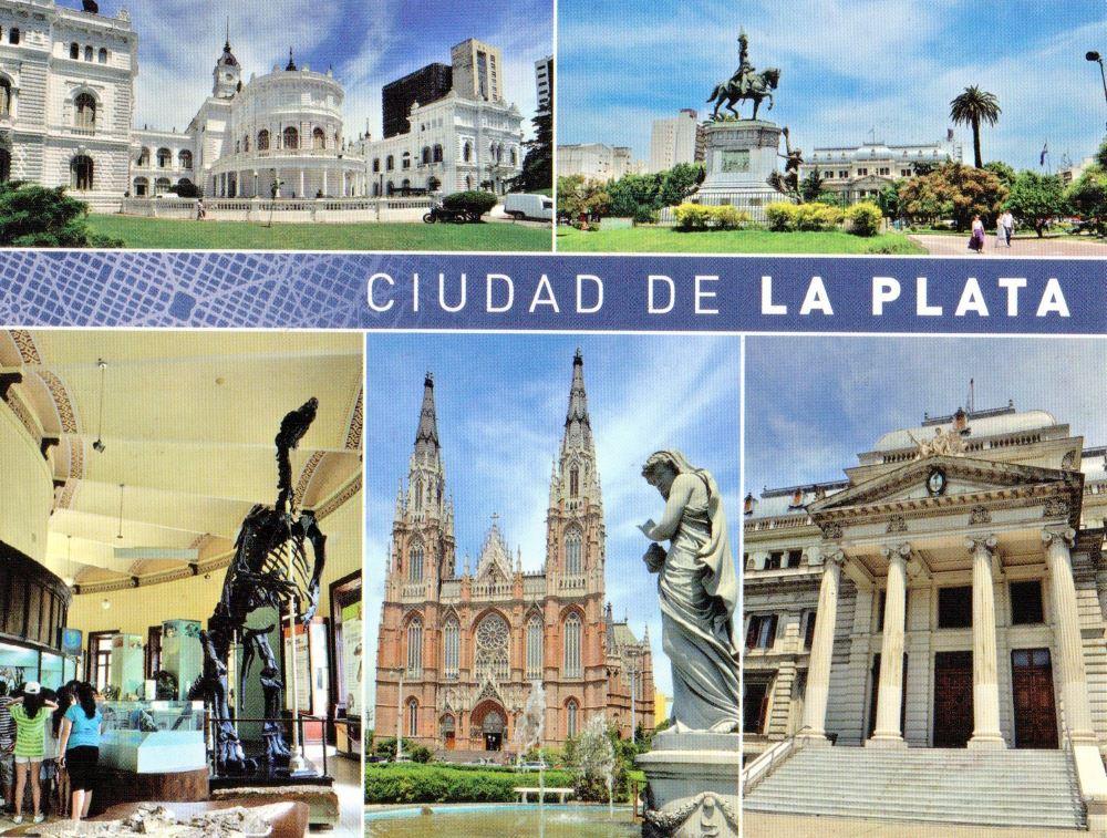 La Plata postcard