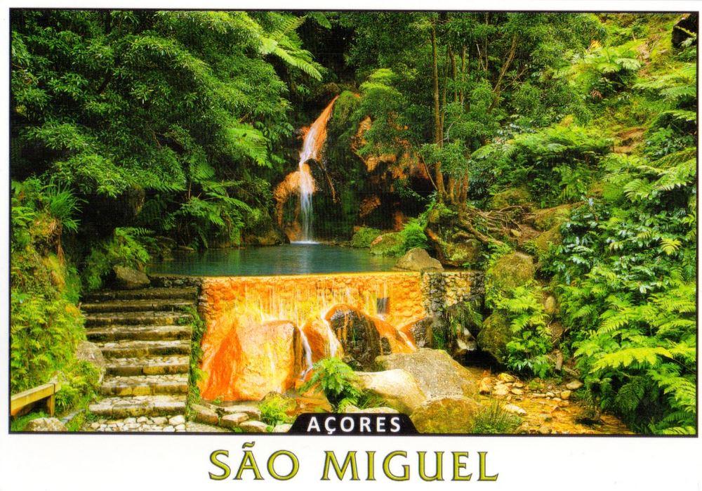 Azores postcard
