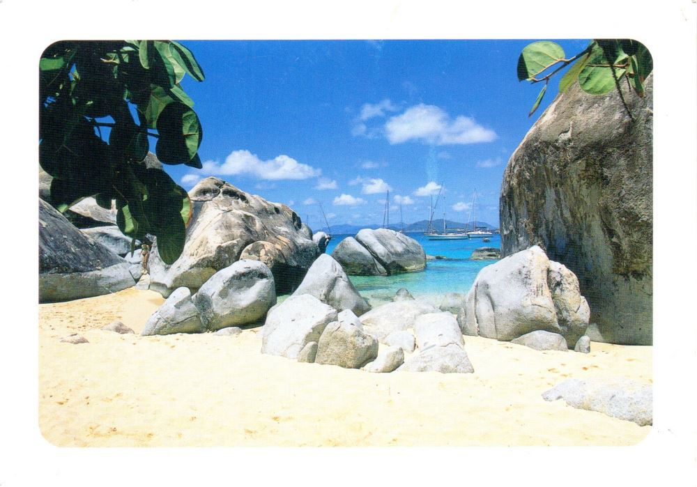 British Virgin Islands postcard