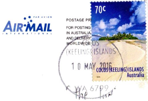 Cocos Keeling Islands stamp