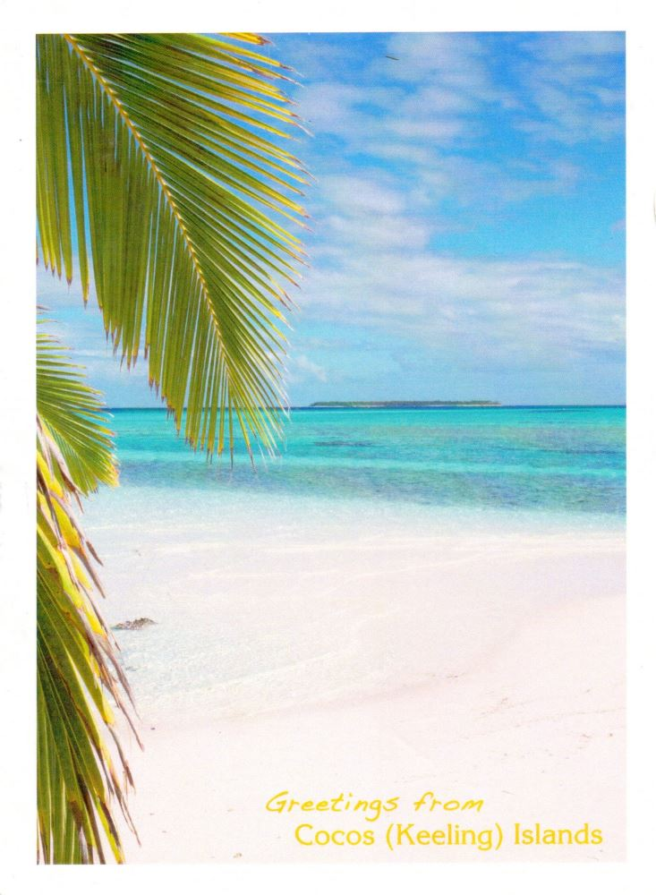 Cocos Keeling Islands postcard