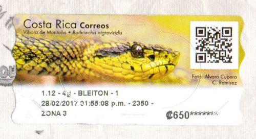 Costa Rica stamp
