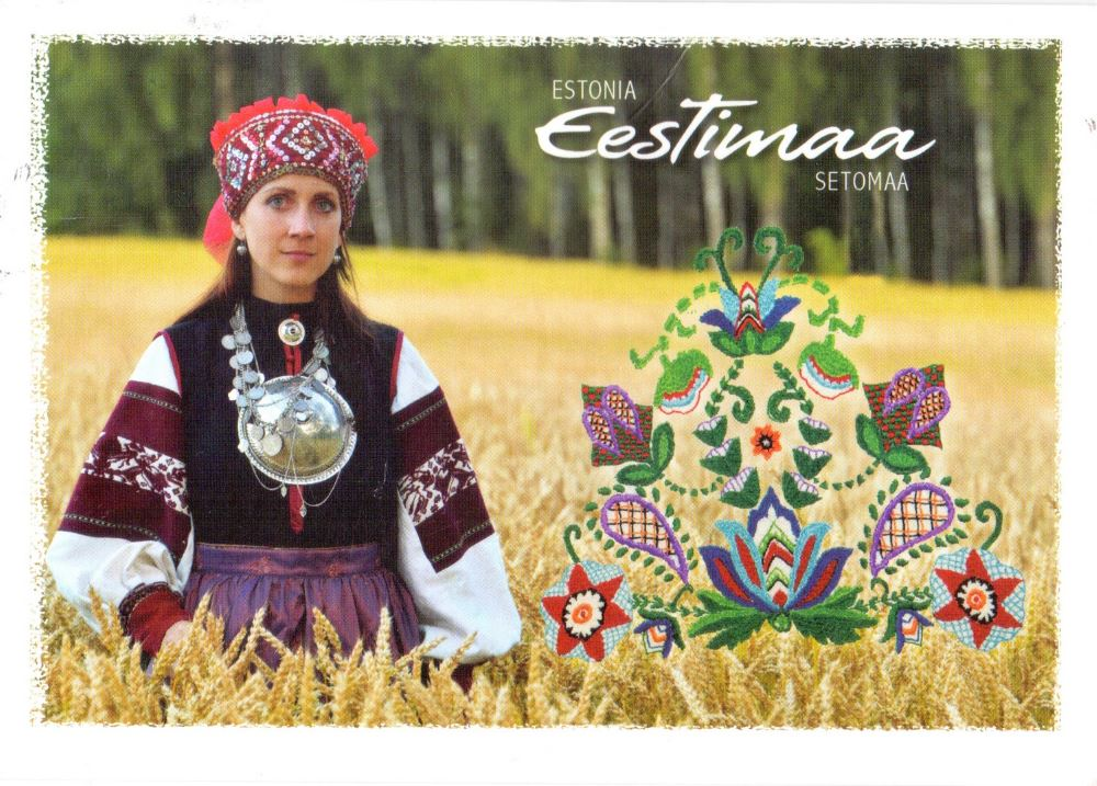 Estonia postcard