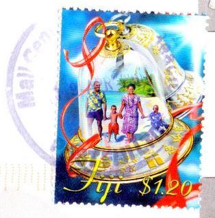 Fiji stamp