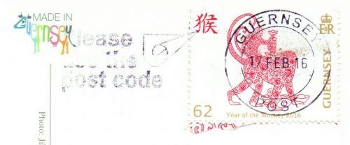 Guernsey postmark stamp