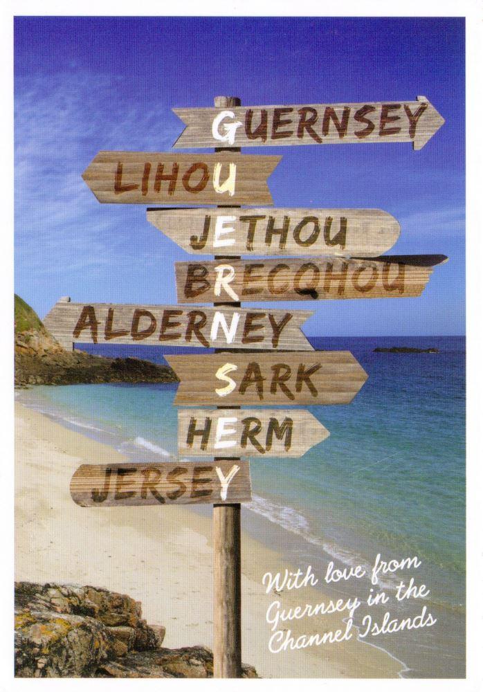 Guernsey postcard
