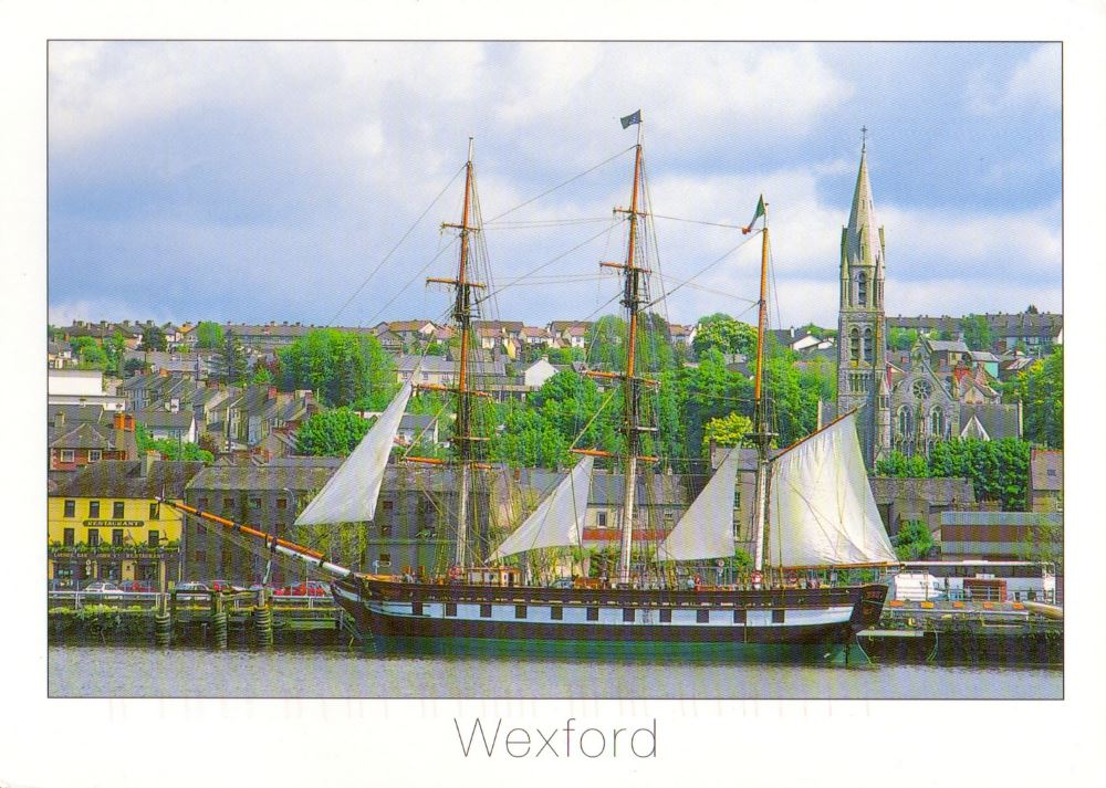Ireland Wexford postcard