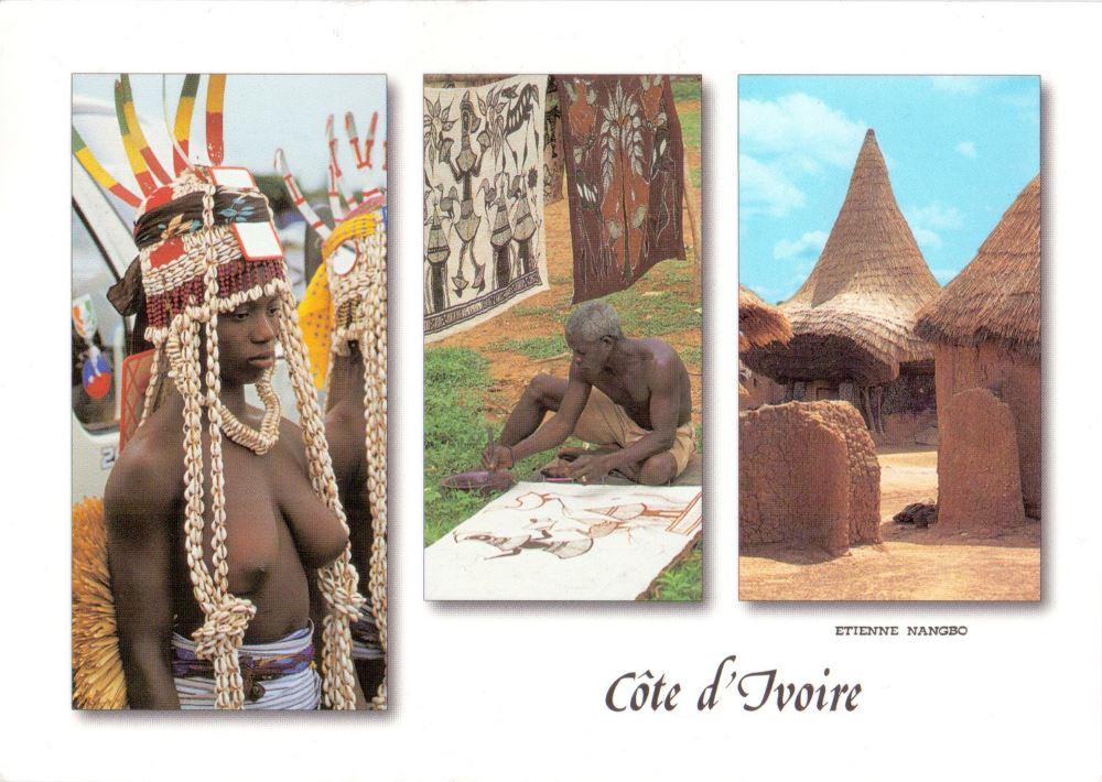 Ivory Coast postcard