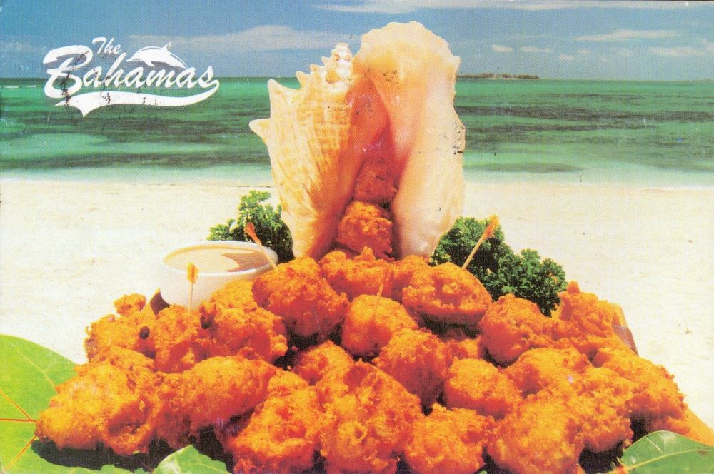 Bahamas conch fritters