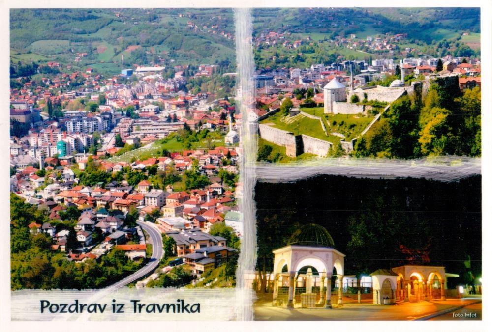 Bosnia Herzegovina Travnik postcard