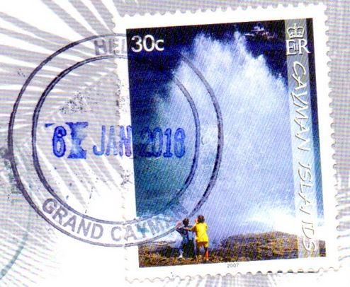 Cayman Islands stamp