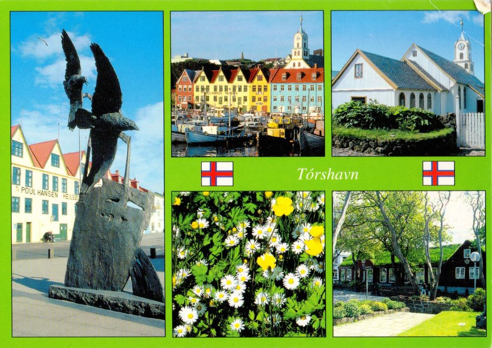 Faroe Islands postcard