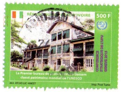 Ivory Coast stamp